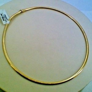 Jewelry - 14K Yellow Gold Lady's Omega Necklace Chain 21.1 G